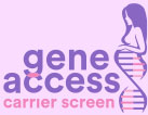 gene acces carrier screen